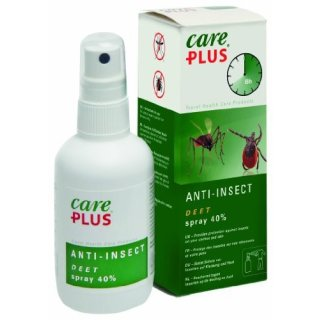 Care Plus Anti-Insect Deet Spray Insektenschutz 40% Spray 60 ml
