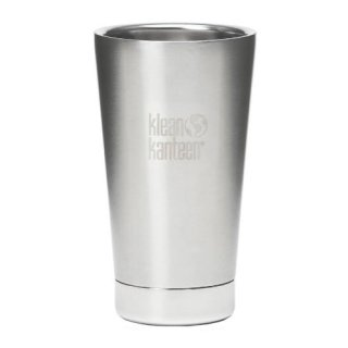 473ml/16oz Kanteen®Tumbler Vacuum insulated  - isolierte Thermosflasche Farbe: Brushed Stainless, gebürsteter Edelstahl