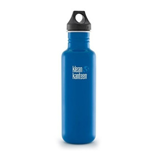 800ml/27oz Kanteen®Classic (Loop Cap)Farbe: Blue Planet, blau