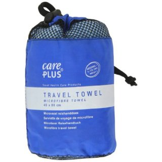 CarePlus® Travel Towel - Microfibre towel small, 40x80cm blue