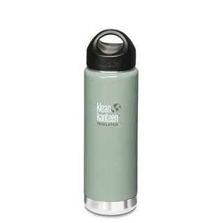 592ml/20oz Kanteen®Wide Vacuum-isolierte Thermosflasche (Stainless Loop Cap)-Farbe: River Rock