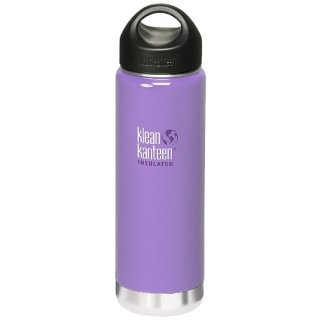 592ml/20oz Kanteen®Wide Vacuum-isolierte Thermosflasche (Stainless Loop Cap)-Farbe: Lavender Tea, lavendel
