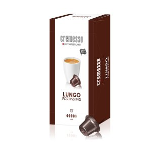 Cremesso Fortissimo16 Kapseln, 6er Pack (6 x 96 g)