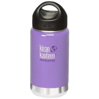 355ml/12oz Kanteen®Wide Vacuum-isolierte Thermosflasche (Stainless Loop Cap)-Farbe: Lavender Tea, lavendel