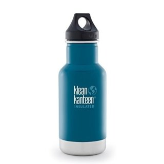355ml/12oz Kanteen®Classic VI (Loop Cap)Farbe: Winter Lake, blau