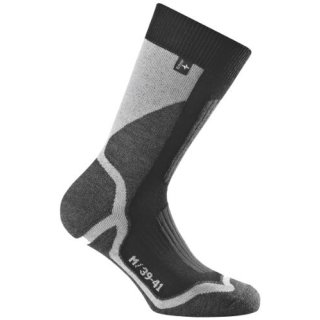 Rohner Socken Trekking Socken Back-country L/R, Grau, 39-41, 62_2111