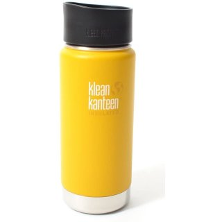 592ml/20oz Kanteen® Wide Vacuum insulated  - isolierte Thermosflasche (mit Café Cap 2.0)-LC