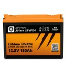 LIONTRON LiFePO4 12,8V 150Ah LXArctic Smart BMS mit...