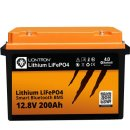 LIONTRON LiFePO4 12,8V 200Ah LXArctic Smart BMS mit...