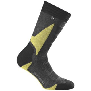 Rohner Socken Trekking Socken Back-country L/R, lemon, 42-44, 62_2101_1