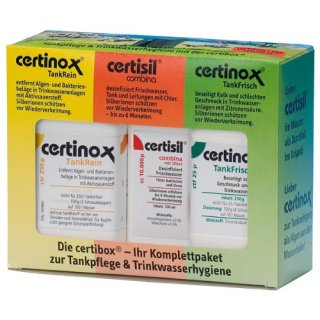 Certisil Campingartikel Certibox 100 Set, 300/932